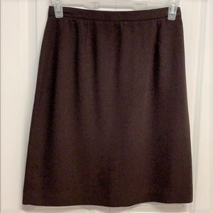 Pencil Skirt Size 10 Brown